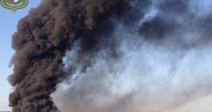 Susto en Alcolea del Pinar controlado un incendio agrícola en media hora