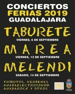 Taburete, Marea y Melendi actuarán en las pistas de Atletismo de la Fuente de la Niña