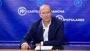 Tortosa señala que frente a la parálisis nacional de Sánchez el PP continúa proponiendo medidas para mejorar la vida de los castellano-manchego