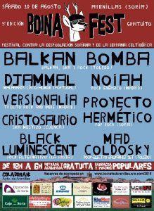 Este sábado se celebra el 1er festival contra la despoblación Boina Fest en Arenillas, que incrementará su población en un 1.000%