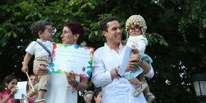 'Abuelos' y 'Foto vintage', mejores disfraces infantiles 2019 de las fiestas de San Roque en Sigüenza