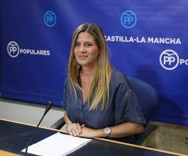 Agudo asegura que mientras el Gobierno de Page y Sánchez sigue de vacaciones el PP está en la calle en permanente contacto con los castellano-manchegos