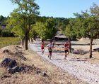 Antonio Cerezo y Cristina Belmar vencen en una carrera marcada por el fuerte arropo del pueblo de Solera