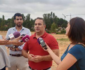 Carnicero resalta la importancia de la obra del segundo acceso al Hospital gracias al gobierno del PP porque la Junta no quiso ejecutar