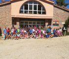 Santiago J. Gómez clausura el programa Campamentos Diputación 2019 en el Albergue Fuente de las Tablas