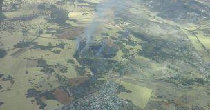 Dos incendios en Guadalajara movilizan a 158 personas y 33 medios, 12 de ellos aéreos