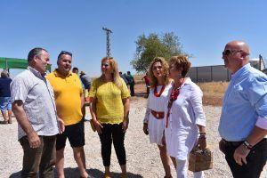 La delegada de la Junta en Cuenca visita el Campo de Tiro ´La Cadena´ en San Clemente