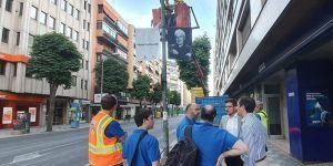 El Ayuntamiento de Cuenca inicia la instalación de sensores dentro del proyecto Smart City de la ciudad