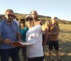 El delegado de la Junta en Guadalajara se une a la jornada de puertas abiertas de las excavaciones arqueológicas de Caraca en Driebes