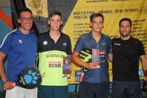 Jordi y Juan Morena ganan la octava prueba del Circuito de Pádel de la Diputación celebrada en Cuenca