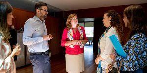 La Consejería de Educación, Cultura y Deportes renueva sus líneas de colaboración con Unicef