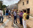 La Diputación de Cuenca abastece con más de un millón de litros de agua potable a varios pueblos de la provincia durante estos días de agosto