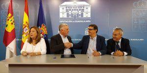 La Diputación de Guadalajara incrementa su apoyo a la Asociación Gentes de Guadalajara