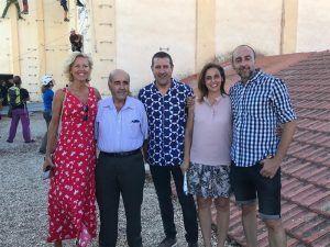 La Junta destaca el potencial turístico que supondrá la instalación del mayor circuito-ferrata urbano de España en Chillarón