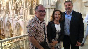 La madre de la Reina Letizia visita Cuenca de la mano de José Ignacio Albentosa