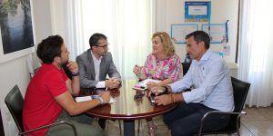 Los ayuntamientos de Alovera y Yunquera de Henares reciben la visita de los técnicos de Guadalajara Empresarial