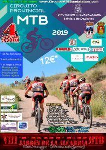 El domingo 4 se celebra en Brihuega el VIII Trofeo MTB Jardín de la Alcarria, cuarta prueba del Circuito Diputación de Guadalajara