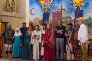 Tras una semana cultural dedicada a la mujer medieval, comienza el espectáculo en La Alvarada