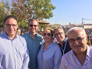prieto cantarero y solera con portavoz pp en mota del cuervo 040819 1 | Liberal de Castilla