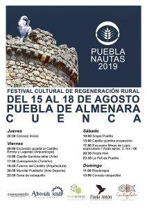 Puebla de Almenara acoge Pueblanautas, el festival cultural por la regeneración rural