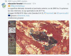 superficie afectada | Liberal de Castilla