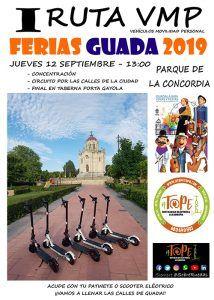 A Tope Topo organiza la I Ruta de Vehículos Eléctricos de Guadalajara