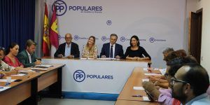 """Agudo insiste en la importancia de bajar los impuestos en Castilla-La Mancha para evitar el """"efecto frontera"""" con la comunidad de Madrid"""