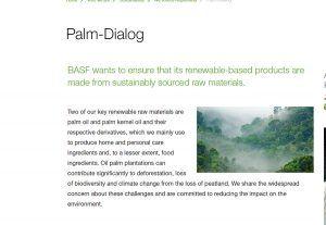 BASF publica el 3er Informe de Progreso sobre la Palma