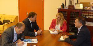 CEOE-Cepyme Cuenca y Junta revisan la situación empresarial de la provincia
