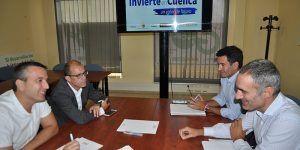 CEOE-Cepyme Cuenca y PGS revisan los trabajos iniciales del Invierte en Cuenca