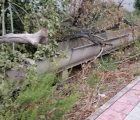 IU Azuqueca alerta del mal estado en el que se encuentran los accesos al municipio