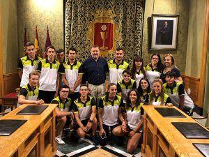 Dolz felicita al Club de Piragüismo 'Cuenca con Carácter' por la clasificación de tres de sus miembros al Mundial de Maratón