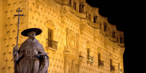 El Cardenal Mendoza y su impulso a la ciudad, detalle monumental de octubre en Guadalajara