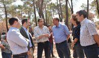 El Gobierno regional iniciará antes de final de año los trabajos de restauración de la zona afectada por el incendio de Barchín del Hoyo