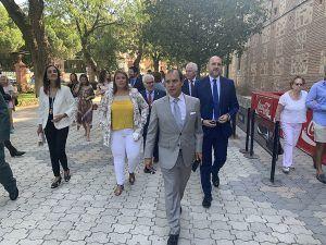 """El presidente de las Cortes reclama un """"aprovechamiento económico"""" del agua del Tajo para los municipios ribereños"""