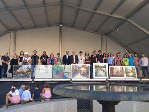 El XXII Certamen de Pintura Rápida al Aire Libre Ciudad de Guadalajara, patrocinado por el Patronato de Cultura, ya tiene ganadores