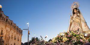 La Virgen de la Antigua, detalle monumental del mes de septiembre en Guadalajara