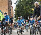 Más de 2.000 personas participan en la celebración del Día de la Bicicleta en Guadalajara
