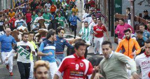 El tercer encierro de las Ferias de Guadalajara se salda con tres heridos