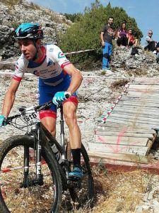 Joaquín Contreras y Natalia Saiz vencen en la MTB Carrera Ruta de los Dinosaurios de Fuentes