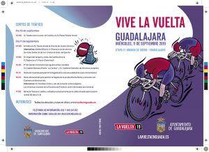 La web www.lavueltaenguada.es informa de todo lo relacionado con la Vuelta Ciclista a su paso por Guadalajara