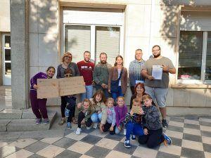 Los escolares de Arguisuelas recuperan el acompañamiento escolar