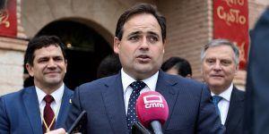 Núñez anuncia que el PP-CLM solicitará en las Cortes Regionales y en el Senado la declaración de Zona Catastrófica para el sureste de la región