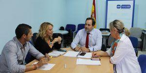 Núñez muestra su satisfacción por propiciar un acuerdo en la región en materia hídrica para la defensa de los ribereños y la convocatoria de la Mesa Regional del Agua