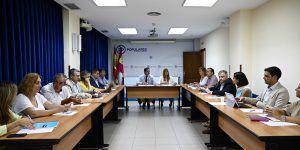 Núñez propondrá a Page acuerdos en materia de financiación autonómica, despoblación, empleo y la convocatoria urgente de la Mesa Regional por el Agua