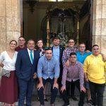 NNGG participa en la Ofrenda de Flores de La Alberca de Záncara