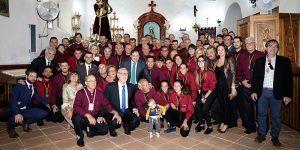 Paco Núñez participa en la misa y procesión en honor a Nuestro Padre Jesús Nazareno de Sisante