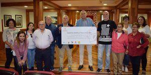 Tarancón entrega más de 45.000 euros a las asociaciones sociosanitarias de la venta de entradas de los conciertos de las fiestas patronales
