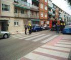 Un escape de gas provoca una explosión en una vivienda de la calle Adoratrices de Guadalajara
