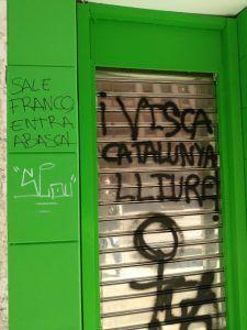 Amenazas de muerte a Abascal en la sede de VOX en Cuenca